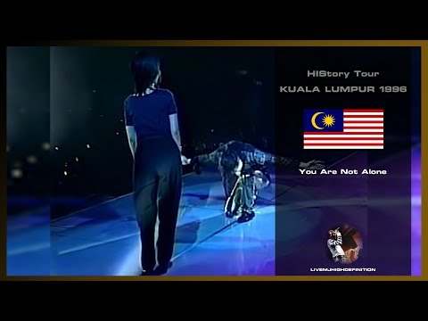 Michael Jackson - You Are Not Alone - Live Kuala Lumpur 1996 - HD
