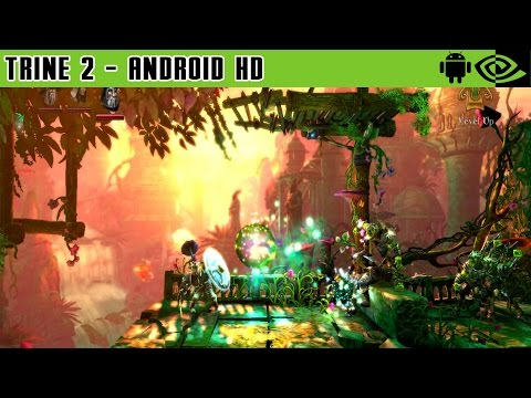 Trine 2: Complete Story - Gameplay Nvidia Shield Tablet Android 1080p (Android Games HD)
