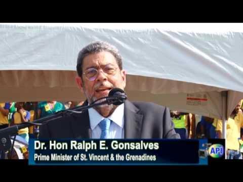 Prime Minister Dr  Hon Ralph Gonsalves 2015 Independence Message