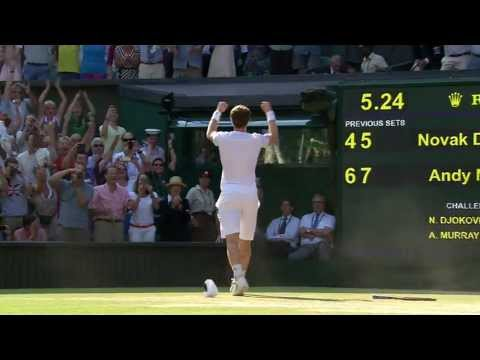 Andy Murray wins Wimbledon 2013 title