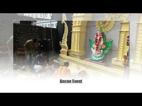 Saraswati Puja Decorations