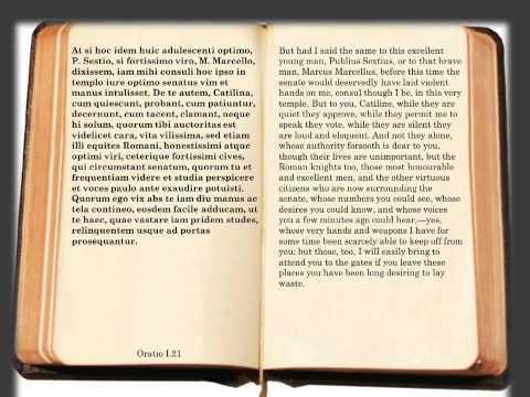 Cicero - In Catilinam / Oratio I