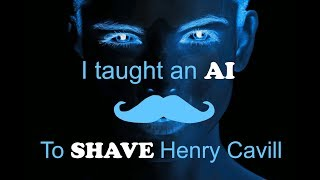 I taught an AI to shave Henry Cavill's mustache