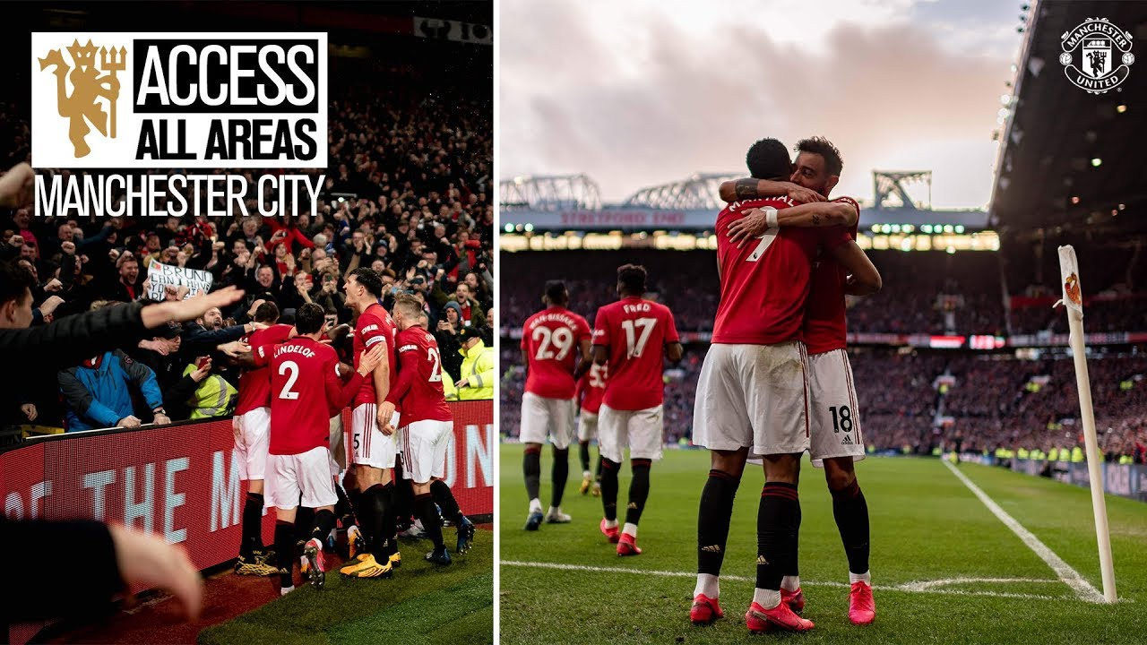 Manchester is Red! | Access All Areas | United 2-0 City | Premier League