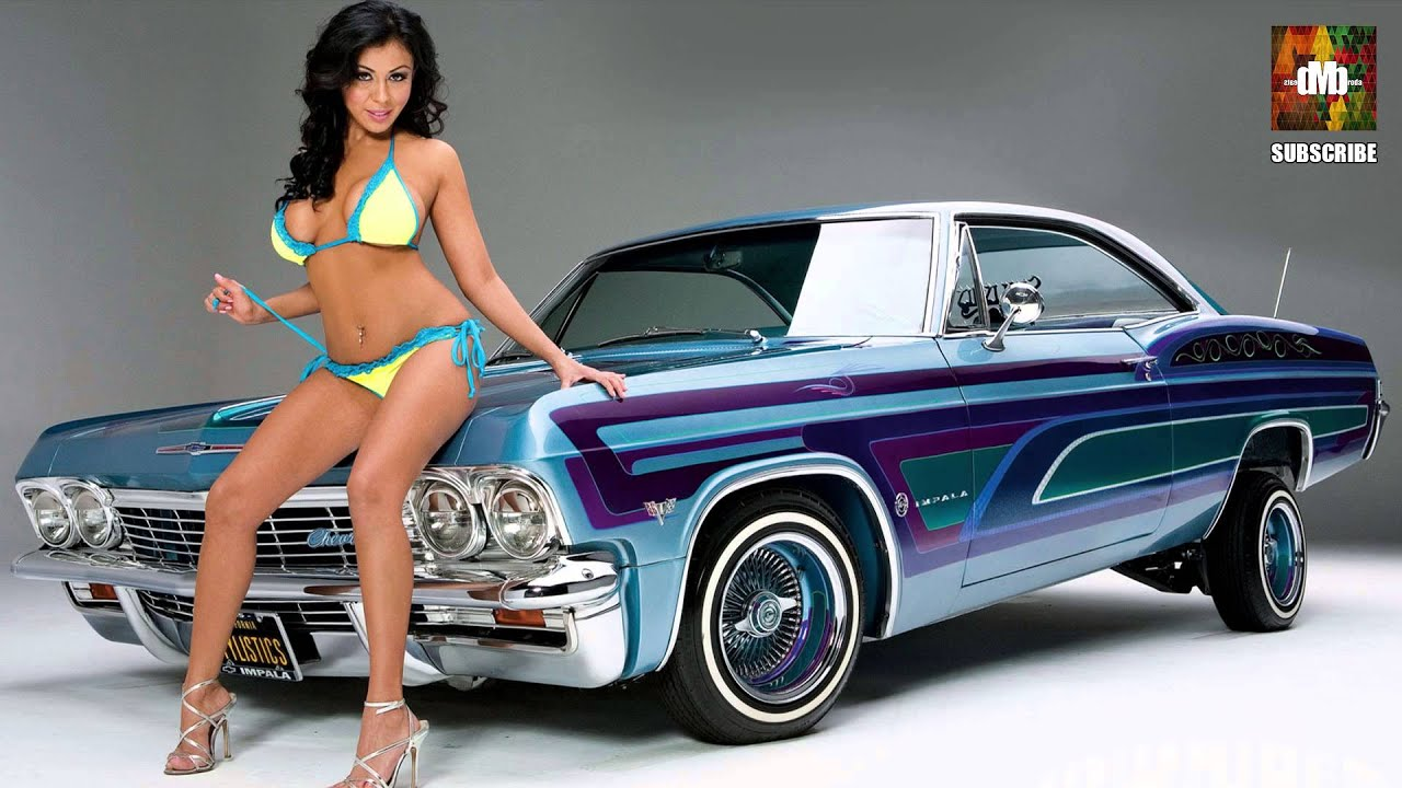 Speaking, Lowrider with naked graphics Such