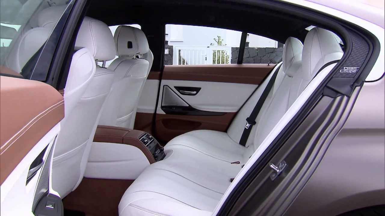 2013 BMW 6 Series Gran Coupe Interior - YouTube