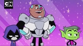Starfire Blows Up the Moon | Teen Titans Go! | Cartoon Network