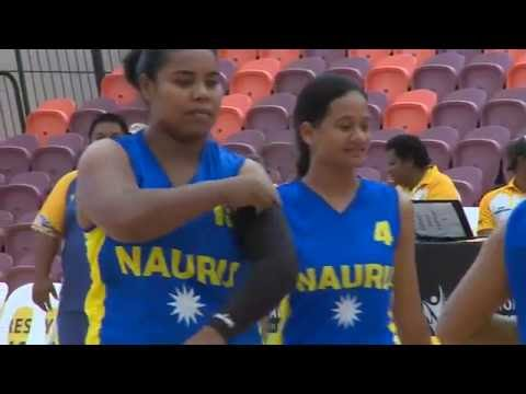Pacific Games   2015 BASKETBALL G10 GUAM vs NAURU
