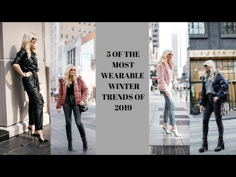 Top 5 Wearable Winter Trends | Fashion Over 40. http://bit.ly/2GPkyb3