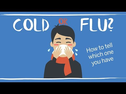 Cold vs. flu symptoms: How to tell if it's influenza