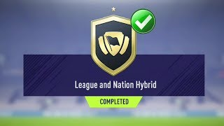 FIFA 18 LEAGUE AND NATION HYBRID SBC CHEAPEST SOLUTION | SQUAD…