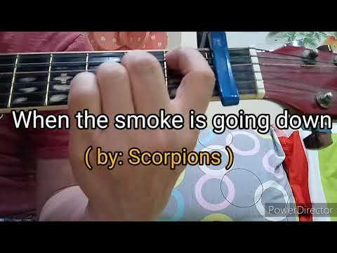 Scorpions -When the smoke is going down/ guitar chords & lyrics/02