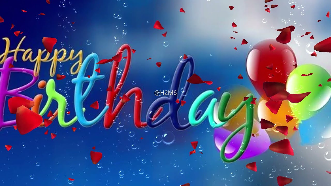 Happy Birthday Wishes/Greetings/Messages Status Download   Happy Birthday whats app status video
