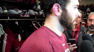 5-22 Keith Yandle Post Game 5