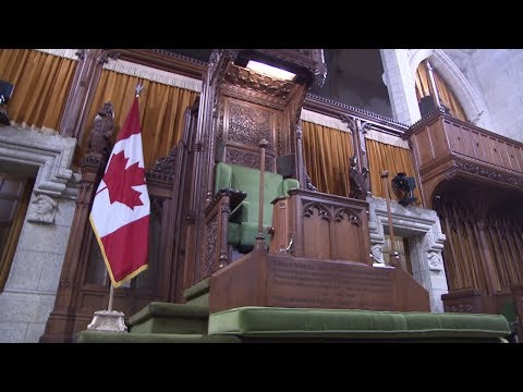 High tech chair helps Speaker through Question Period