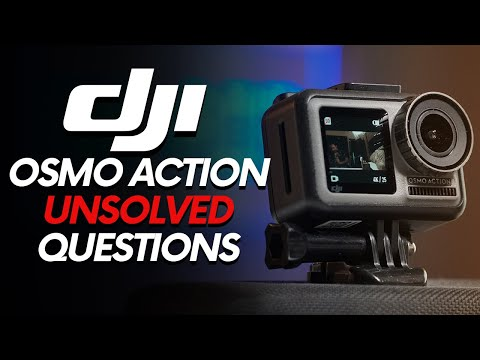 DJI OSMO ACTION UNSOLVED QUESTIONS (gps, audio...)