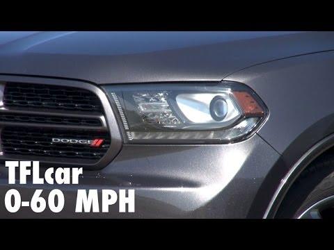 2014 Dodge Durango R/T HEMI 0-60 MPH Take II