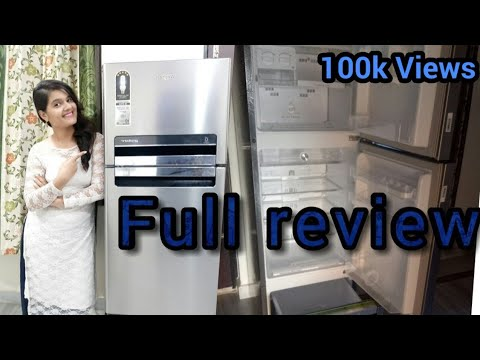 Whirlpool Fridge| Triple Door | Protton Series | Full Review | 240L | #tripledoorfridge #whirlpool