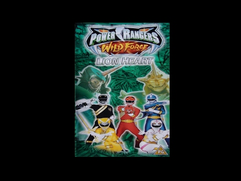 Digitized opening to The Power Rangers Wild Force: Lion Heart (UK VHS)