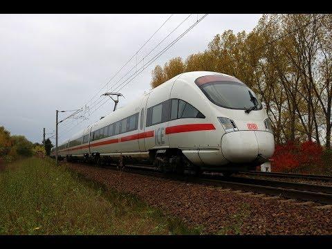Zugmitfahrt - ICE 1652 (Linie 50.1); Leipzig Hbf - Wiesbaden Hbf | Teil 1: Lpz. Hbf - Sangerhausen