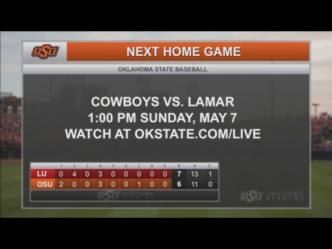 Cowboy Baseball vs. Lamar