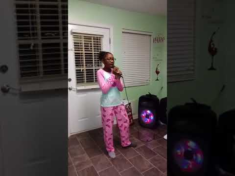 Mira's Karaoke to Incapable by Keisha Cole..