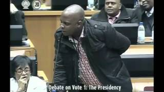 'This guy again is misleading Parliament' – Shivambu