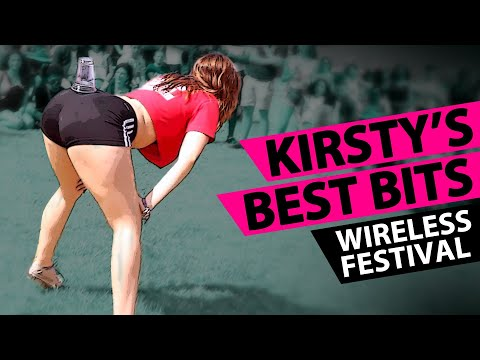 Kirsty Twerking Highlights from Wireless Festival
