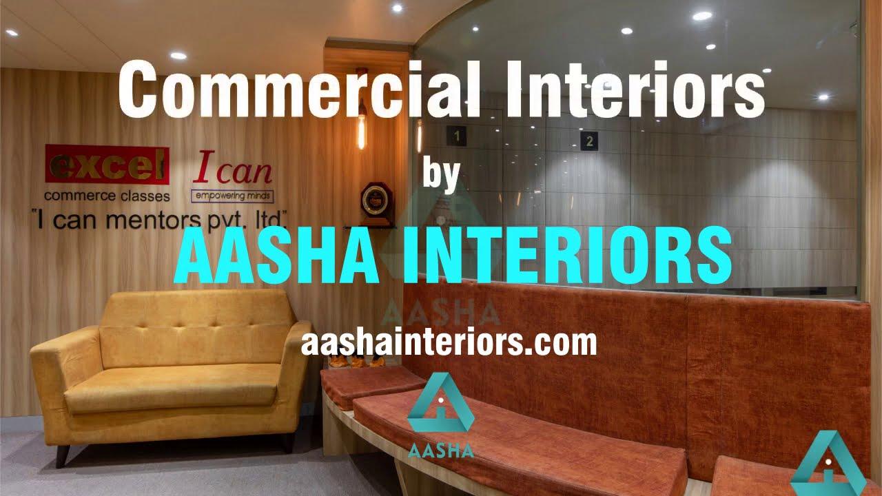 Commercial Interiors By Aasha Interior Designer In Mumbai Youtube