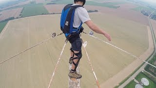 Plank of Death: Scariest BASE JUMP Exit Ever?   Andrew Toyer