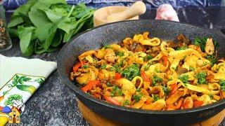 Скорее Сохраняйте РЕЦЕПТ Вкусный ОБЕД или УЖИН за 15 минут на сковороде