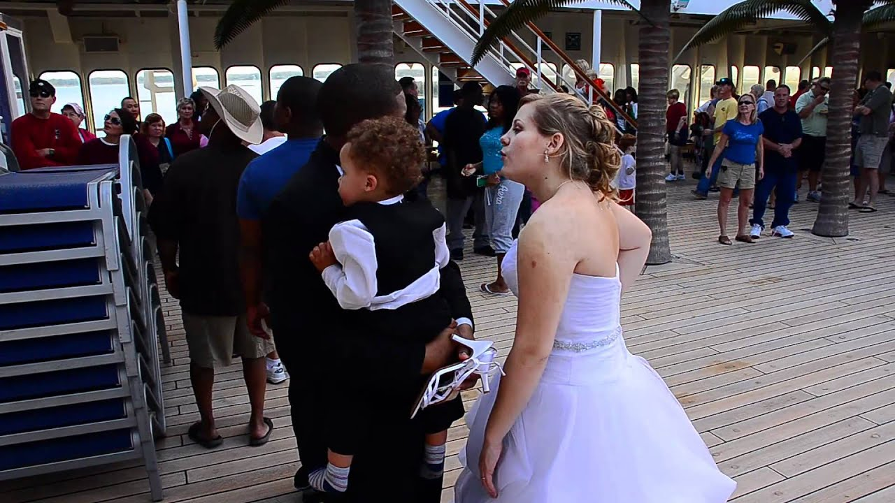 Wedding Aboard Carnival Cruise Fascination To The Bahamas Hd1080p You