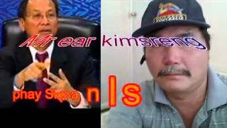Khmer News, Mr Ear Kimsreng Said,  phay ...