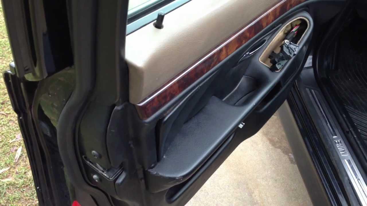 BMW E39 Door Panel Replacement DIY  YouTube