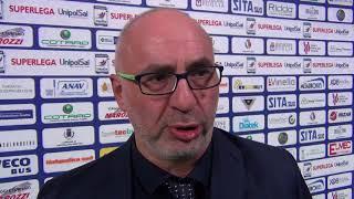 26-12-2017: #SuperLega - Pino Lorizio nel post New Mater - Lube 3-2