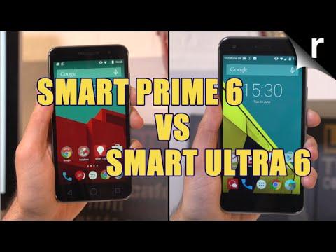 Vodafone Smart Prime 6 vs Vodafone Smart Ultra 6