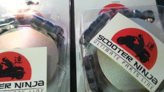 Honda ruckus parts variator upgrade