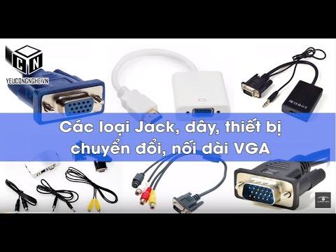 Jack, Dây, Thiết Bị Chuyển đổi, Nối Dài VGA Màn Hình