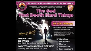 MFM Ireland Annual Crusade and Anointing Service 2018