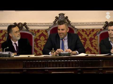Ple ordinari de març de 2019 - Ajuntament de Cullera