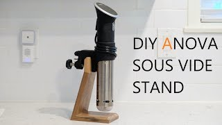 DIY Sous Vide Stand | ANOVA Sous Vide Cooker - Storage Solution