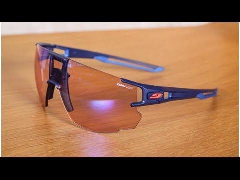 337d6f052b Julbo Aerospeed photochromic sunglasses - YouTube