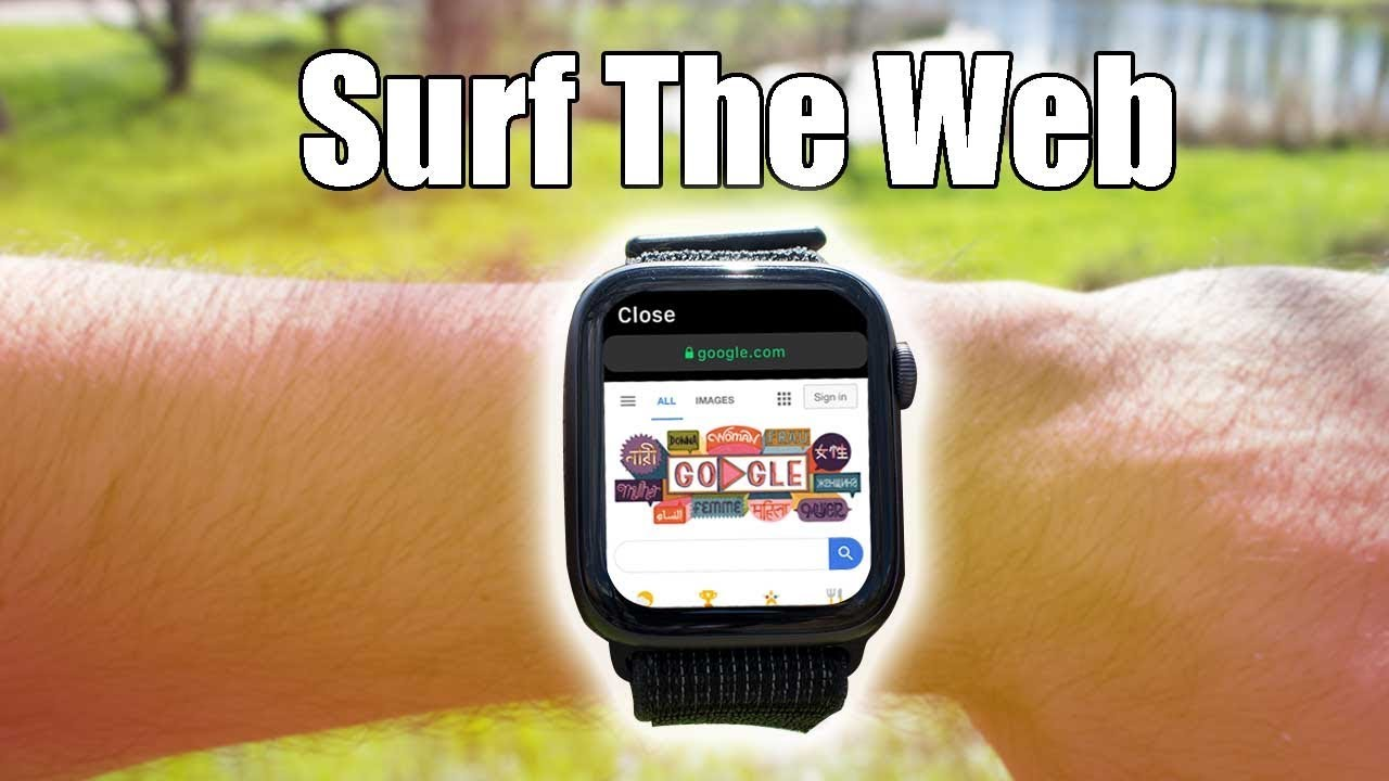Apple Watch How To Use Web Browser On Demand Webkit Youtube