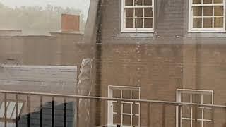 Cellphone video of rain