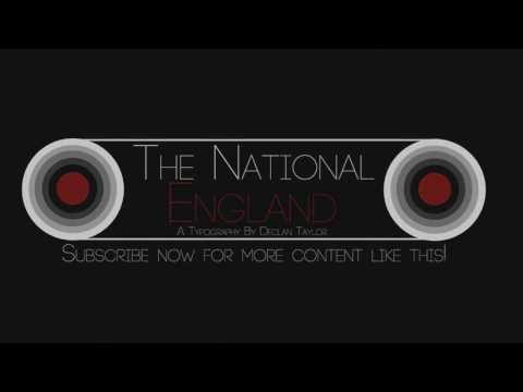 The National - England   Kinetic Typography