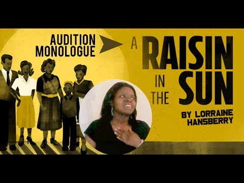 a raisin in the sun beneatha monologue