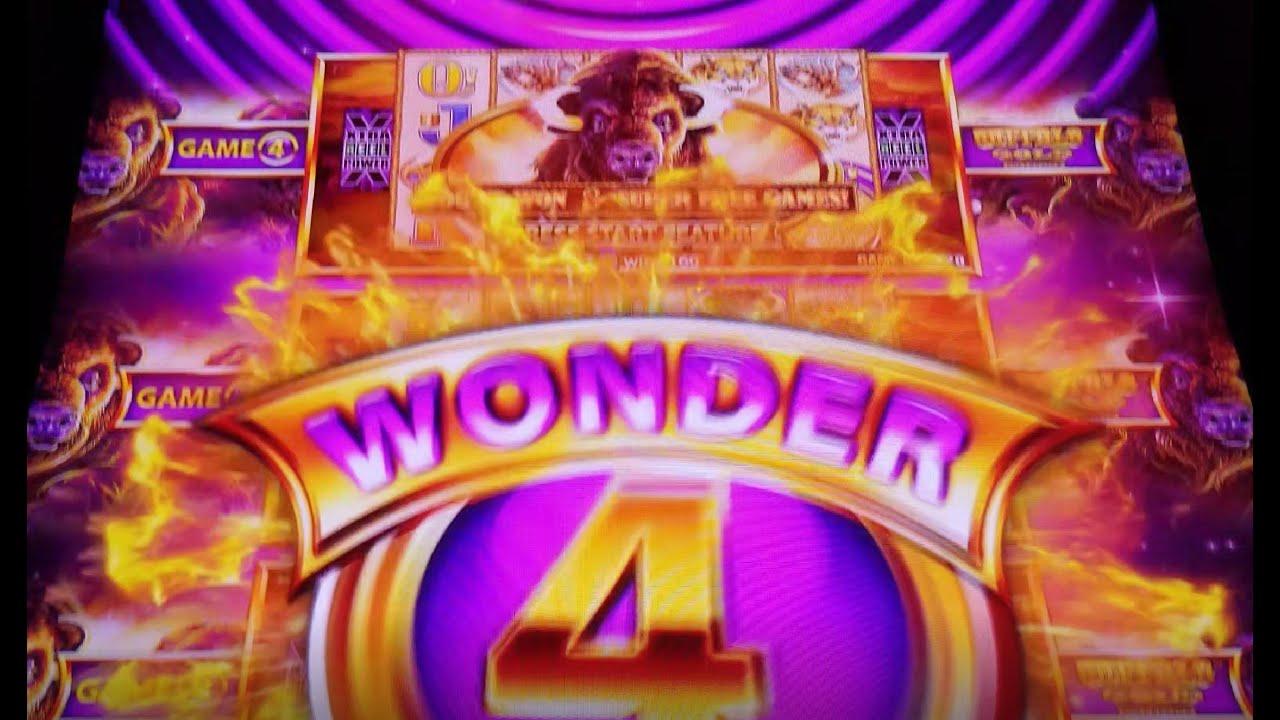 Wonder 4 tower buffalo gold