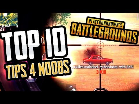 TOP 10 PRO TIPS FOR BEGINNERS (PUBG Mobile)