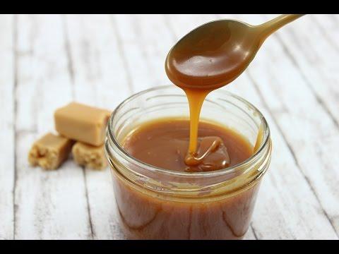 Sahne-Karamell-Sauce/ Sahne-Karamell-Creme (mit nur 4 Zutaten)