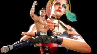 MK11 Harley Quinn Performs All Victory Celebrations Outro 2 (Cassie Quinn Skin)